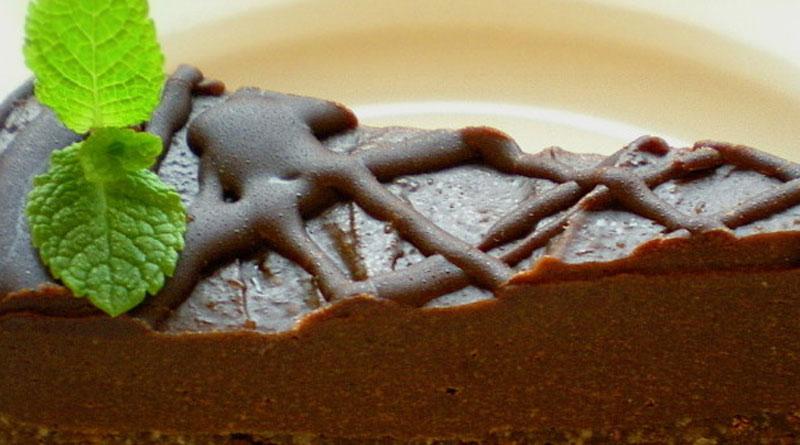 Вкусна торта с кестени и лешници