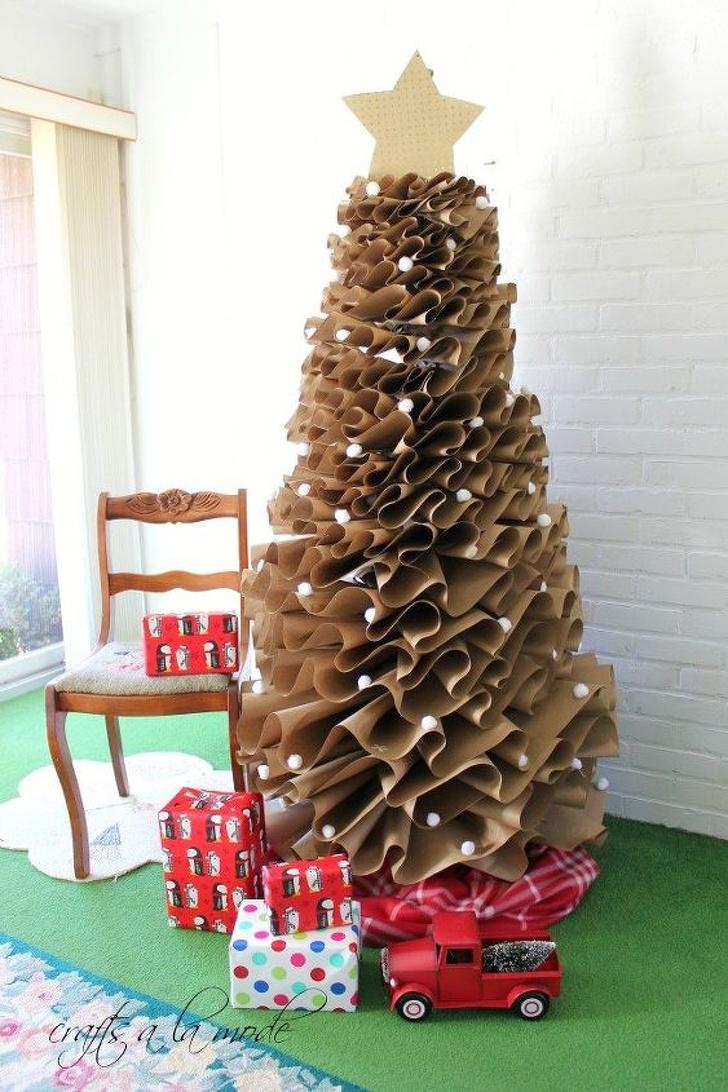 Дърво от амбалажна хартия