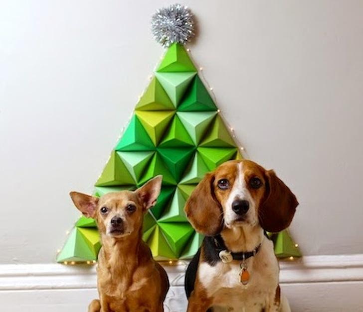 Оригами елха