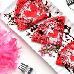 Палачинки за Свети Валентин
