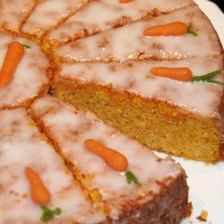 Кекс с моркови