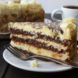 Домашна торта Бяла неделя