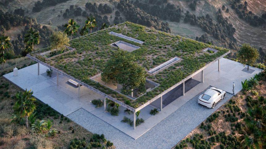 Модернистичната архитектура става популярна в САЩ