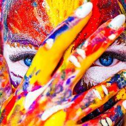 Цветни петна пред очите